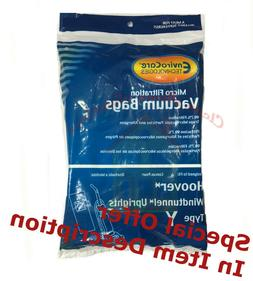 12 Hoover Allergy Vacuum Type Y Bags, WindTunnel Upright Vac