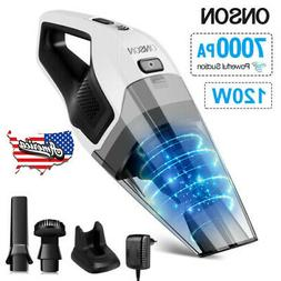 120W High Power Rechargeable Cordless Wet & Dry Portable Car