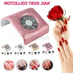 120W Nail Art Vacuum Fan Cleaner Suction Dust Collector Mani