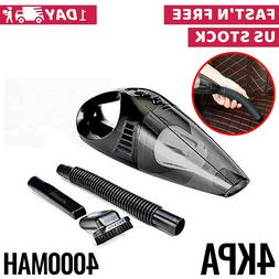 12V Car Vacuum Cleaner For Auto Mini Hand Held Wet Dry Small