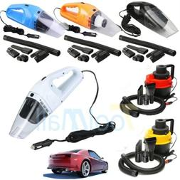 12V Wet Dry Vac Vacuum Cleaner Inflator Portable Turbo Hand