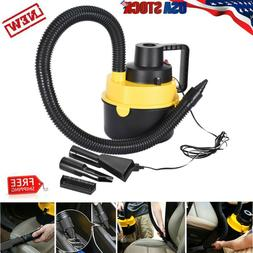 12V 75W Car Boat Inflator Portable Vacuum Cleaner Wet & Dry