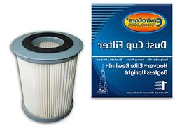 2) Hoover Pleated Elite Rewind Fusion HEPA Filter, Upright,