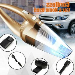 2020 Cordless Car Vacuum Cleaner Home Rechargeable Wet / Dry