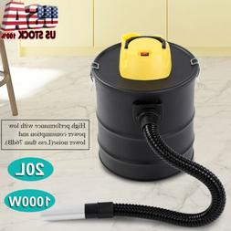 20L 1000W Ash Vacuum Cleaner Dry Fireplaces Stove BBQ Dust H