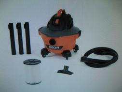 RIDGID 3.5 HP 6 Gallon Wet Dry Vacuum, Portable Dirt and Deb