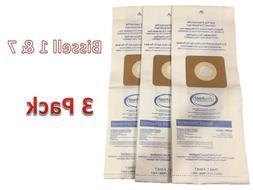 3 Allergy Bags fit Bissell 30861 Style 1 4 7 Vacuum Cleaner