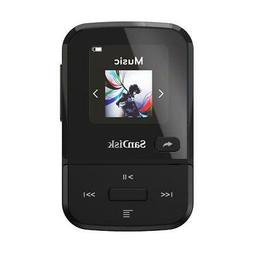 SanDisk 32GB Clip Sport Go Wearable MP3 Player, Black #SDMX3
