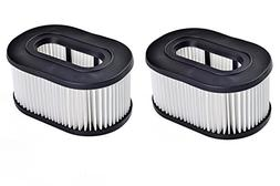 Green Label 2 Pack Type 50 HEPA Filter for Hoover Vacuum Cle