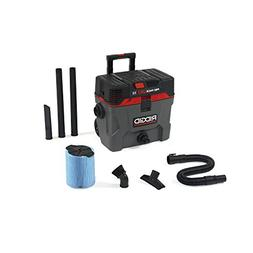 Ridgid 50328 Pro Pack Wet/Dry Vacuum, 10 gallon, Red
