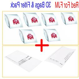 6X Vacuum Cleaner Bag + 2 Filter For Miele S4780 S4781 S4812