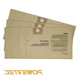 POWERTEC 75003 High Efficiency 4 to 5-Gallon Filter Bags for