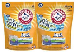 Arm & Hammer Plus OxiClean 3-in-1 HE Laundry Power Paks, 2 p