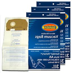 EnviroCare Replacement Vacuum Bags for Eureka Style AA Victo