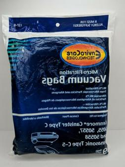 Kenmore Style C/Q Micro Filtration Canister Vacuum Bags Simi