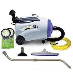ProTeam Commercial Canister Vacuum Cleaner, RunningVac Canis