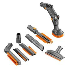 Universal 8-Piece Vacuum Cleaner Attachments Accessories Cle