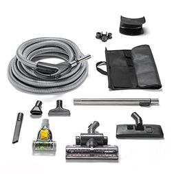 GV Universal Central Vacuum Hose Kit with Turbo Nozzles
