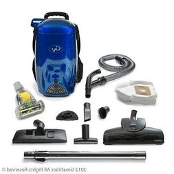 BLUE 8 Qt Lightweight Powerful HEPA BackPack Hardwood floor