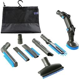 4YourHome Brush Attachment Tool Kit with Storage Bag for Vax