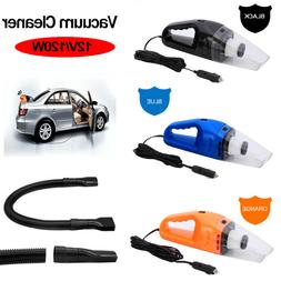 Car Vacuum Cleaner 12V Hand Held Auto Wet Dry Portable Handh