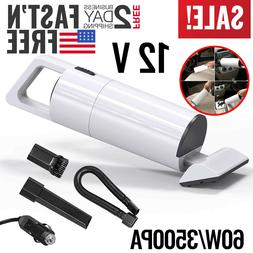 Car Vacuum Cleaner 12V Portable For Auto Mini Hand Held  Wet