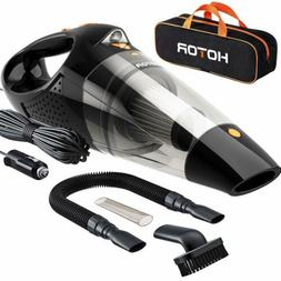 HOTOR Car Vacuum, Corded Car Vacuum Cleaner High Power for Q