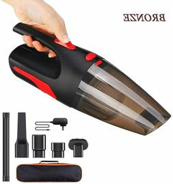 cordless hand vacuum cleaner cyclonic portable car