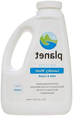 Planet Delicate Laundry Wash - 32 oz - Free & Clear