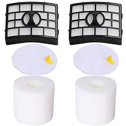 Amyehouse Hepa and Foam Filters Replacement for Shark Rotato