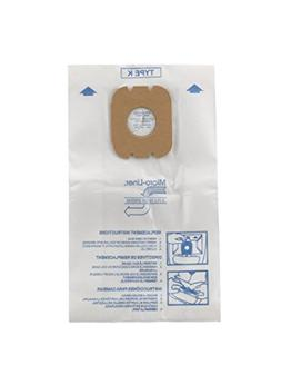 Hoover 4010028K Type K Canister Vacuum Cleaner Bag