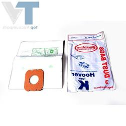 Hoover Type K Envirocare Canister Vacuum Cleaner 3 Paper Bag