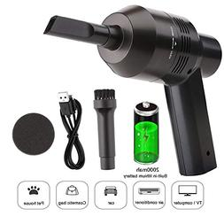 Keyboard Cleaner Powerful Rechargeable Mini Vacuum Cleaner,C