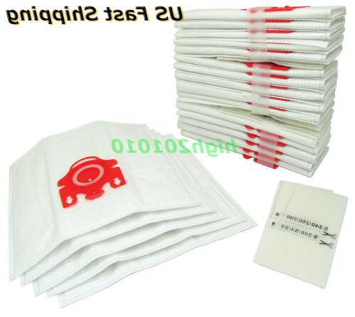 10 x Vacuum Cleaner Bags For Miele Compact C1 & C2 Series FJ