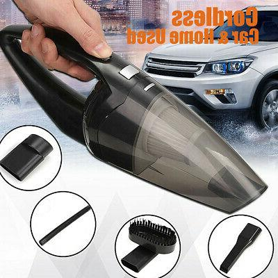 120w car home cordless vacuum cleaner rechargeable