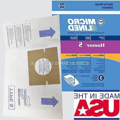 18 Hoover Type S Microlined Vacuum Cleaner Bags Futura Spect
