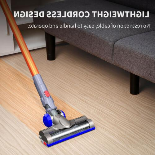 2-in-1 Cordless Upright Stick Vacuum 6000Pa Suction