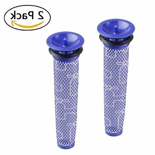 2pcs replacement filters for dyson v6 v7