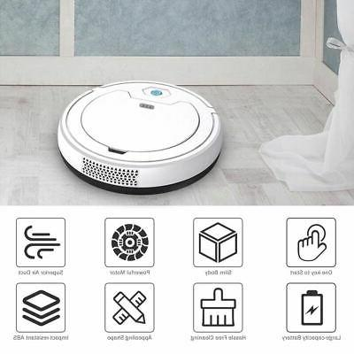 3 in 1 Intelligent Sweeper Robot 1800Pa Rechargeable Vacuum