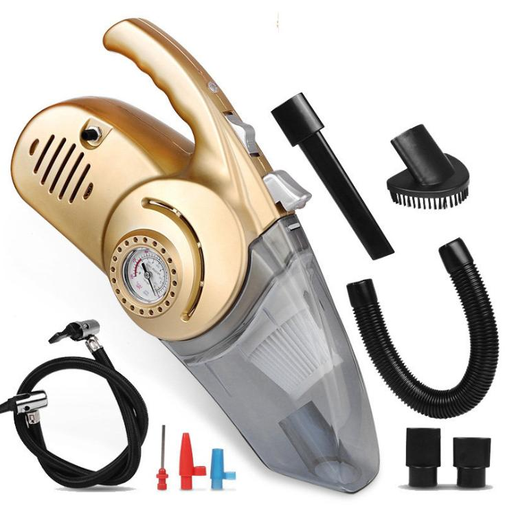 4 in 1 Portable 12V Car LED Vacuum Cleaner Tire Inflator Tir