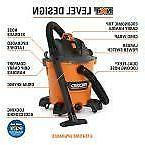 New 12 RIDGID Gallon 5 Peak HP Wet Dry Portible Shop Vac Vac