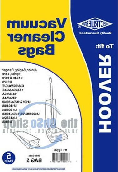 5 x HOOVER Vacuum Cleaner Bags H1 Type - Junior 1334A, 1334E
