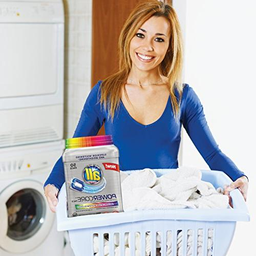 all Pacs Detergent Plus & 50
