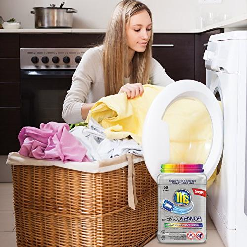 all Pacs Detergent Plus & Protects Tub, 50
