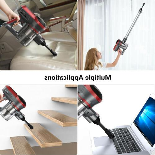2-in-1 Cordless Upright Handheld Stick Vacuum Suction Kit