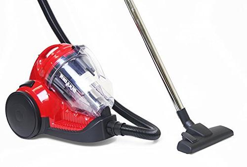 bagless canister cyclonic vacuum