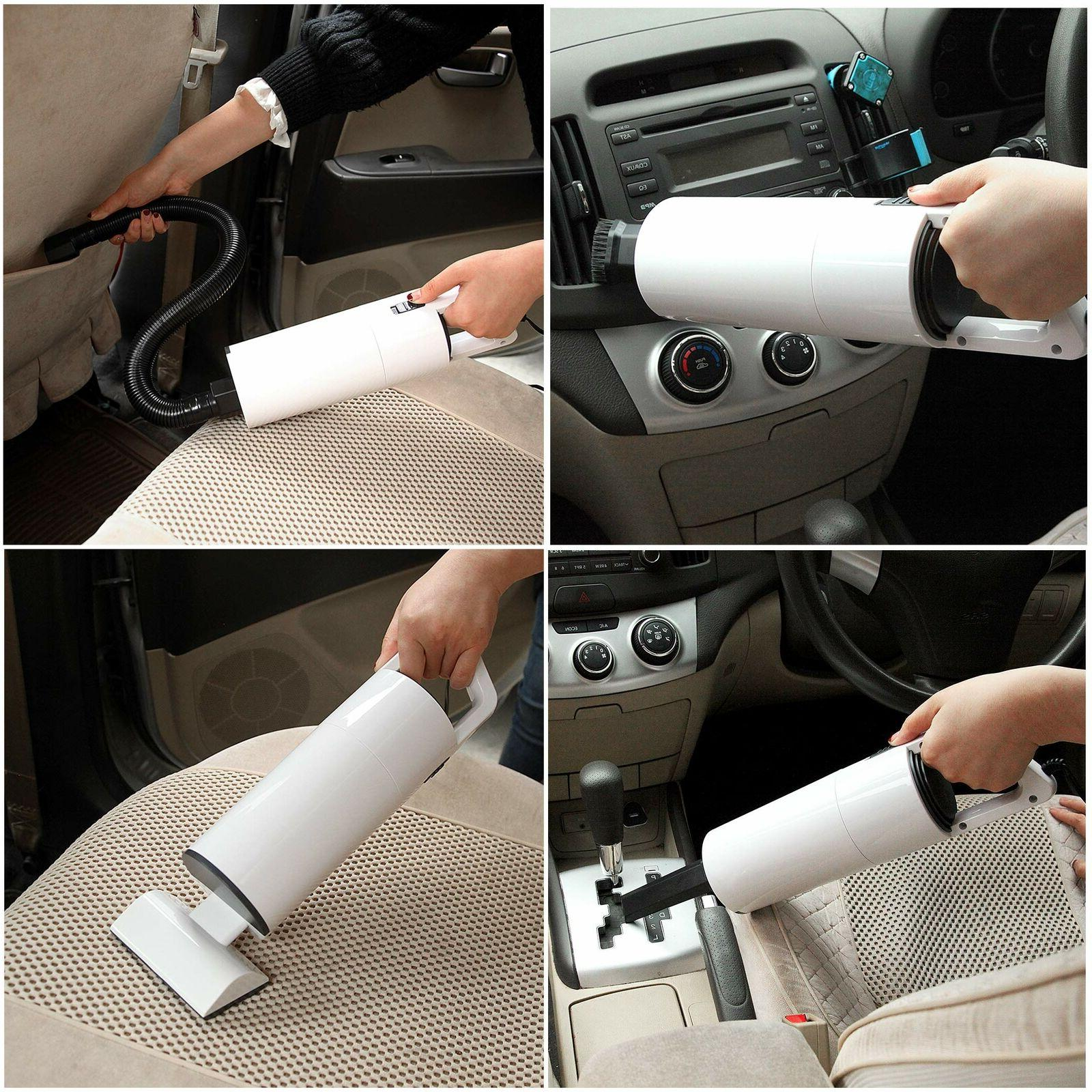 Car Vacuum Cleaner 12V Portable For Auto Hand Held Wet Dry Small