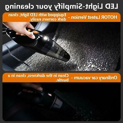 Car Corded Car Vacuum High Power Quick Cleaning