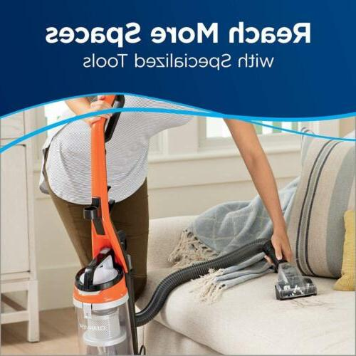 BISSELL Cleanview Bagless Vacuum Cleaner, Orange