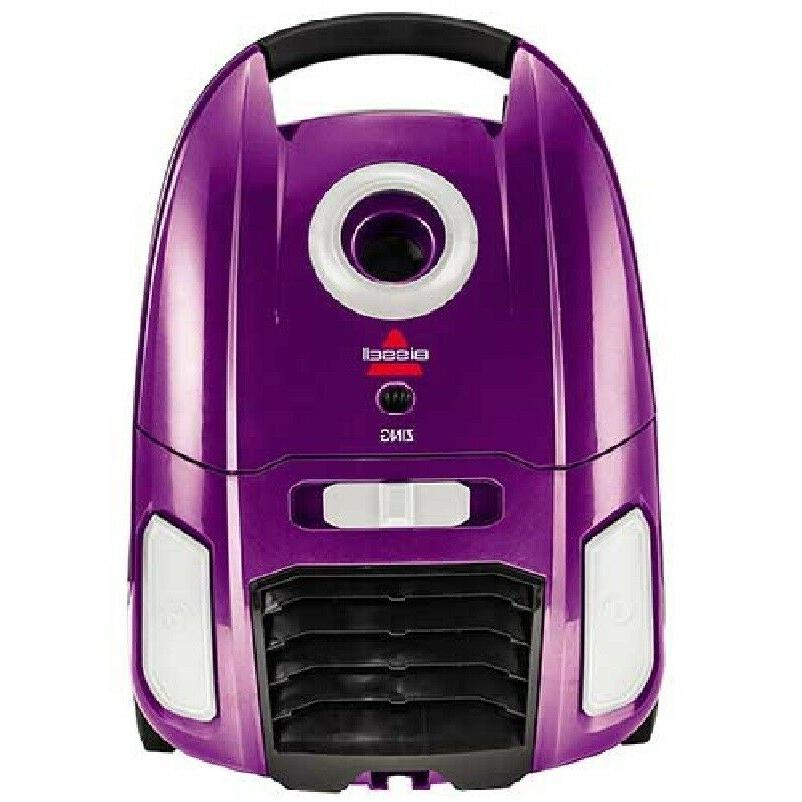 Purple Vacuum Compact Cord Rewind Home Floor